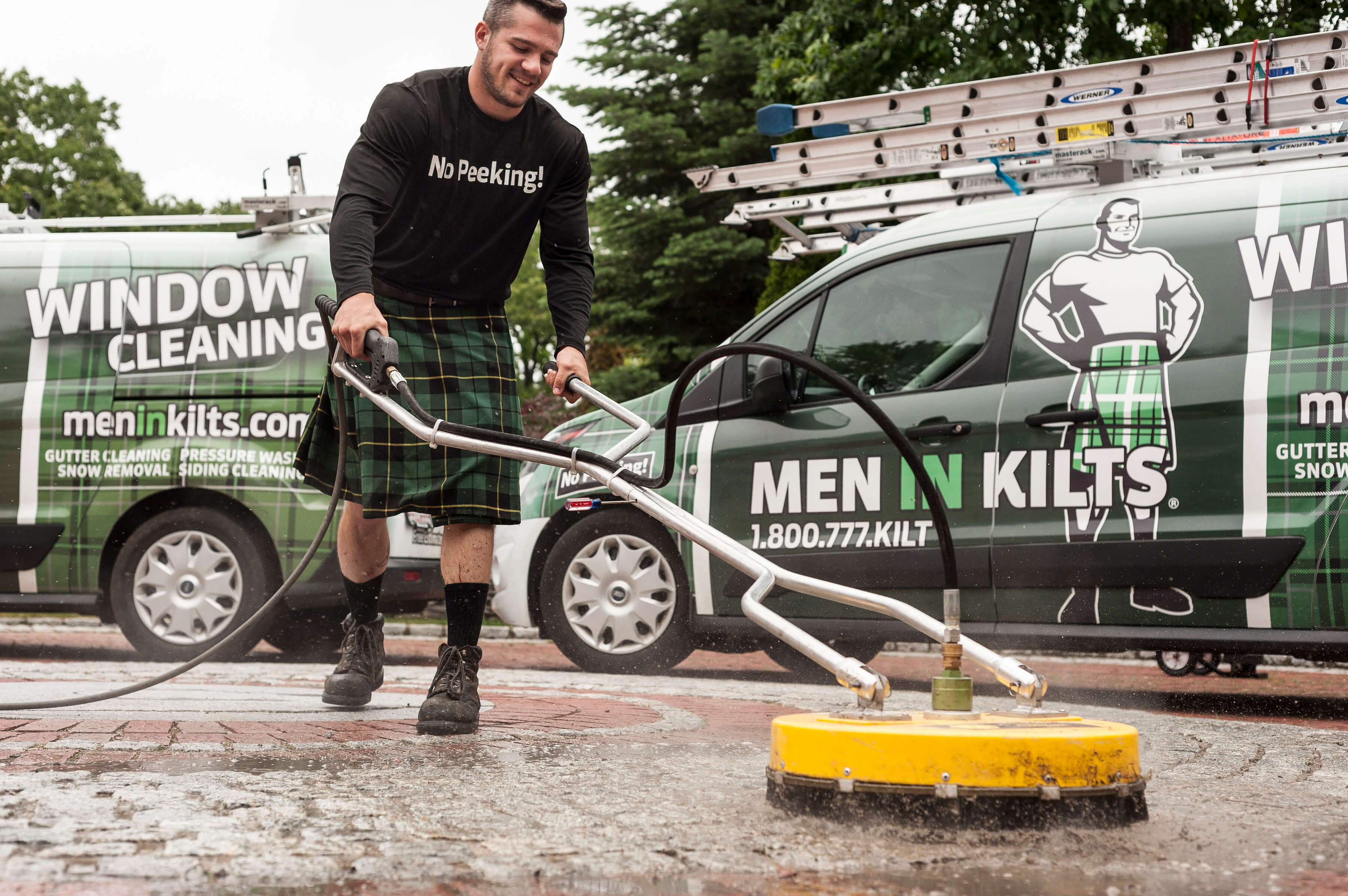 Pressure Washing | Men In Kilts